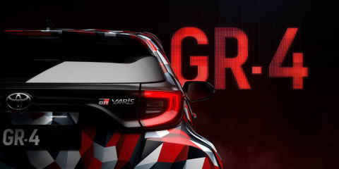 2020 Toyota Yaris GR-4 teased