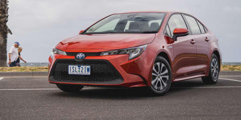 2020 Toyota Corolla sedan review: Ascent Sport hybrid