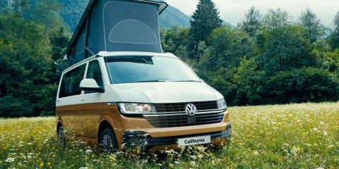 2021 Volkswagen California Beach and Multivan Cruise price and specs