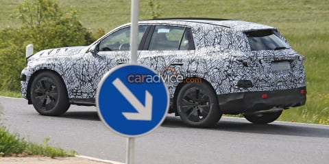 2023 Mercedes-Benz GLC first spy photos