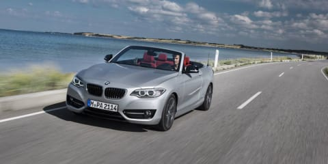 2015 BMW 2 Series Convertible revealed