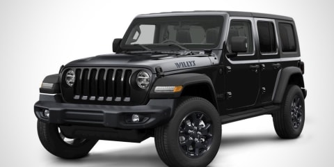 2021 Jeep Wrangler Unlimited Willys Edition price and specs