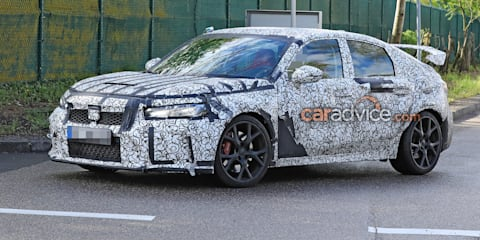 2022 Honda Civic Type R spied testing, launch confirmed for 2022