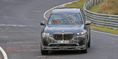 Alpina: X7-based mule spied, Australian arm interested