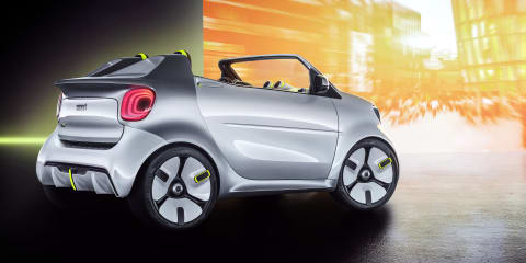 Smart ForEase concept unveiled