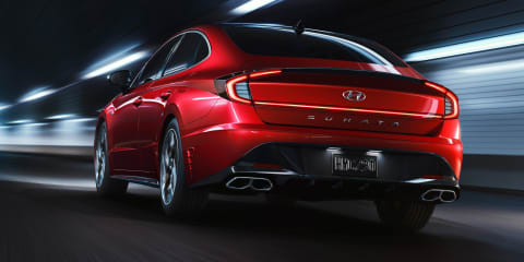 2021 Hyundai Sonata N Line revealed ahead of big unveiling event
