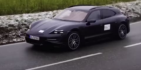 2021 Porsche Taycan Cross Turismo wagon teased, Australian launch expected