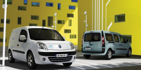 Renault Kangoo ZE electric van coming to Oz
