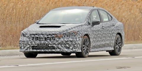 2022 Subaru WRX spy photos
