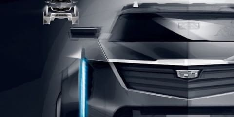 General Motors teases GMC and Cadillac pickup concepts