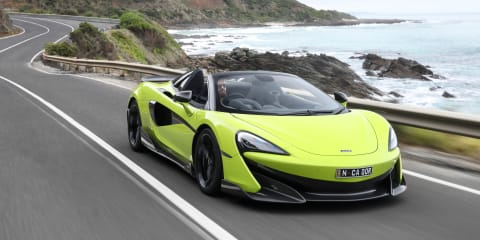 2019 McLaren 600LT Spider pricing and specs