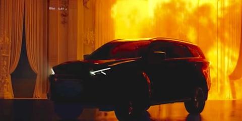 2021 Isuzu MU-X teased in video
