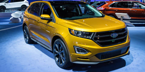 2016 Ford Kuga (Escape) facelift and Ford Edge : 2015 LA Auto Show