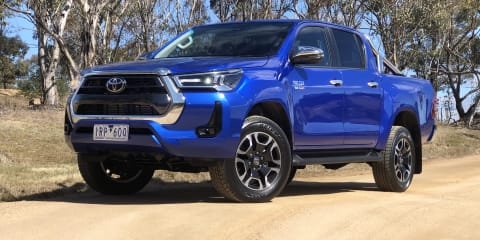 2021 Toyota HiLux SR5 review