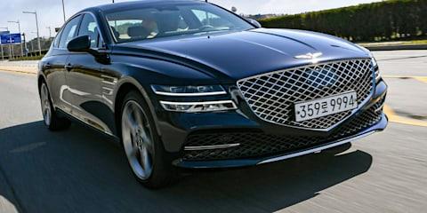 2021 Genesis G80: more details released