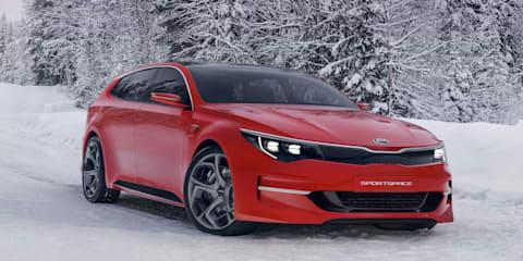 Kia Sportspace concept to premiere in Geneva, previews Optima wagon
