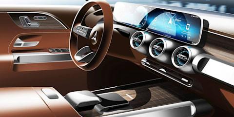 Mercedes-Benz Concept GLB teased