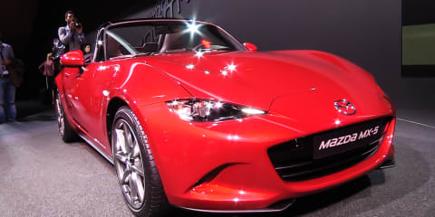 2014 Mazda MX-5 - first look