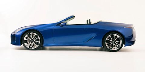 2021 Lexus LC500 Convertible price and specs