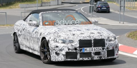 2020 BMW M4 Convertible spied