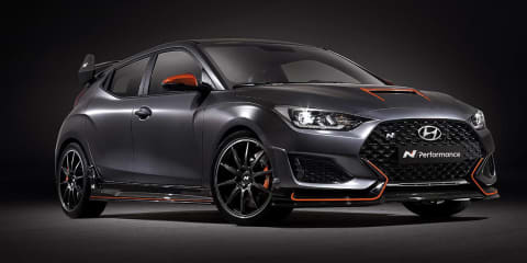 Hyundai Veloster N Performance Concept revealed