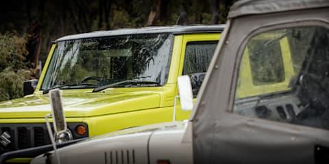 1977 Suzuki LJ50 v 2021 Suzuki Jimny comparison