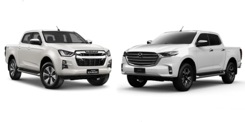 2021 Mazda BT-50 versus Isuzu D-Max: What's the difference?