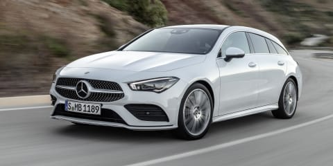 2020 Mercedes-Benz CLA Shooting Brake unveiled, not coming to Australia