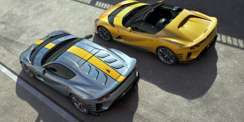2021 Ferrari 812 Competizione and Competizione A revealed with 9500rpm redline