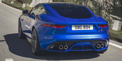 2020 Jaguar F-Type facelift unveiled