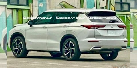 2022 Mitsubishi Outlander leaked and teased – UPDATE: Spied undisguised again!