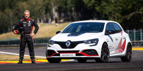 Renault Megane RS Trophy-R sets lap record at Spa