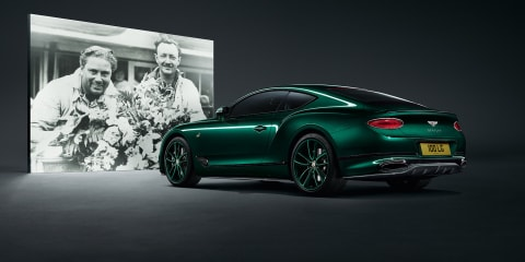 Bentley Continental GT Number 9 by Mulliner revealed