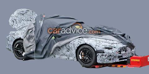 2021 Mercedes-Benz SL spied