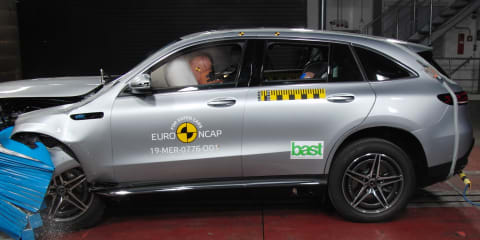 Mercedes-Benz EQC, Toyota Corolla sedan score 5 star ANCAP ratings