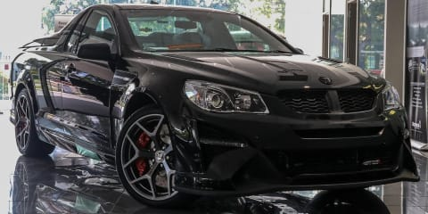 Final HSV Maloo GTSR ever built listed with near-$1 million price-tag