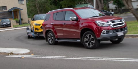 2020 Isuzu MU-X LS-T tow review