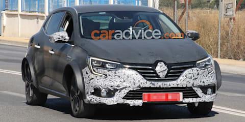 Renault Megane-based protoype spied