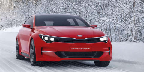 Production Kia Sportspace now on Australian agenda, will be 2016 Optima wagon