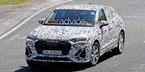 2020 Audi Q3 Sportback spied