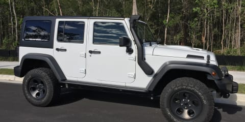2012 Jeep Wrangler Unlimited Sport (4x4) review