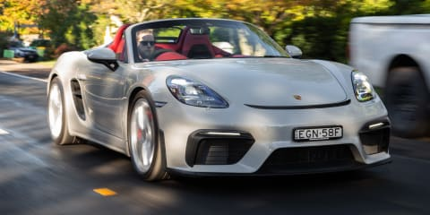 2020 Porsche 718 Spyder review