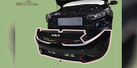2021年起亚Cerato GT面部拉皮泄露,内部显示在新的图像