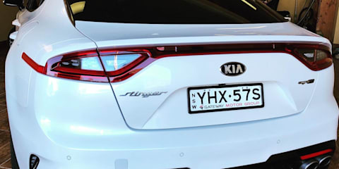 2017 Kia Stinger GT-Line (Red Leather) review