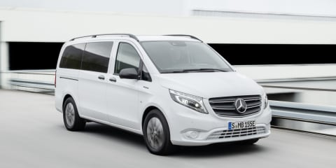Mercedes-Benz eVito Tourer electric van gets major overhaul