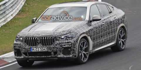 2020 BMW X6 spied inside and out
