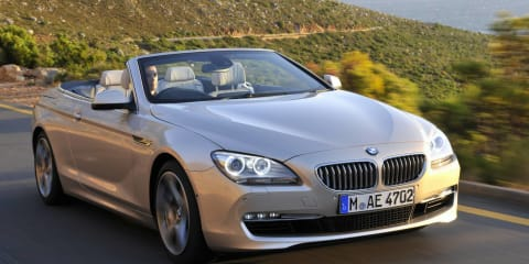 2011 BMW 6 Series Convertible Australian pricing