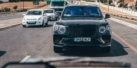 2021 Bentley Bentayga review: Prototype test