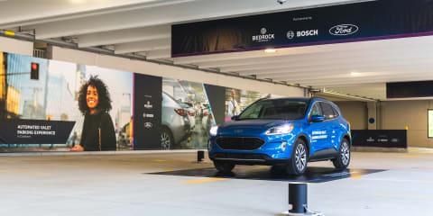 Ford and Bosch demonstrate automated valet parking system