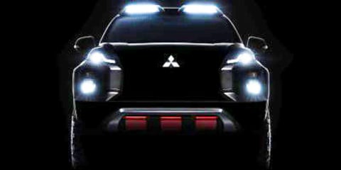 Mitsubishi Triton: Jacked-up concept truck teased